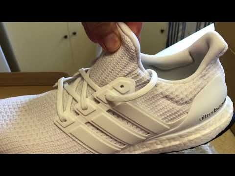 5756f6beb0e adidas UltraBOOST 4.0 triple white unboxing my thoughts 2018