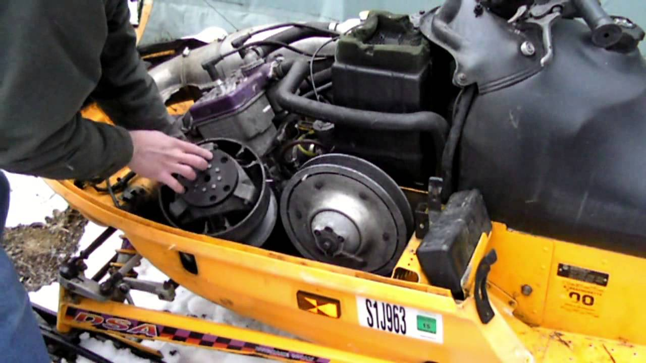 How to Change a Snowmobile Clutch