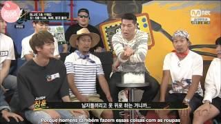 22.06.15 BTS no Yaman TV: Palavras-chave em 5 segundos [Legendado PT-BR]