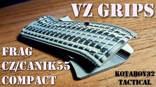 VZ Grips FRAG Review for CZ-75 Compact & Canik55 Compact with Installation