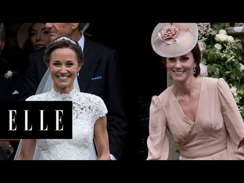 7 Moments from Pippa Middleton's Wedding That Are Exactly the Same as Kate's | ELLE