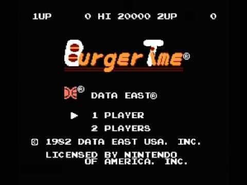 Burger Time (NES) Music - Stage Theme