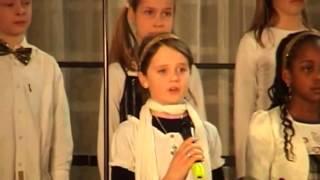 Amira Willighagen - Emmaus Children Choir - Nella Fantasia - 2012 - Then only 8 years old