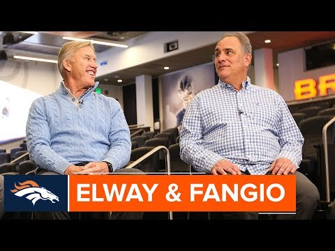 John Elway & Vic Fangio React to First Wave of Free Agency | Denver Broncos