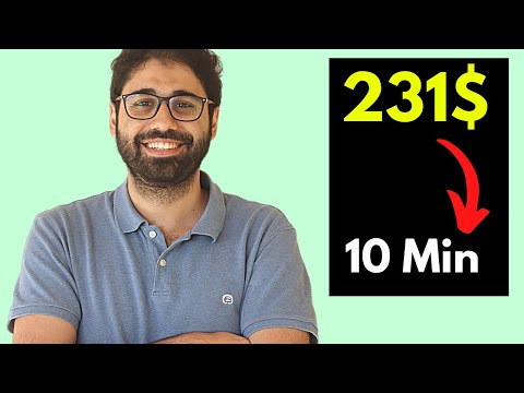 Make Money With Email Marketing | 231$ in 10 Minutes [Case Study]