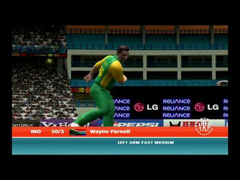India vs South Africa : Ea Sports Cricket 2007 Knockout Cup  Part 1