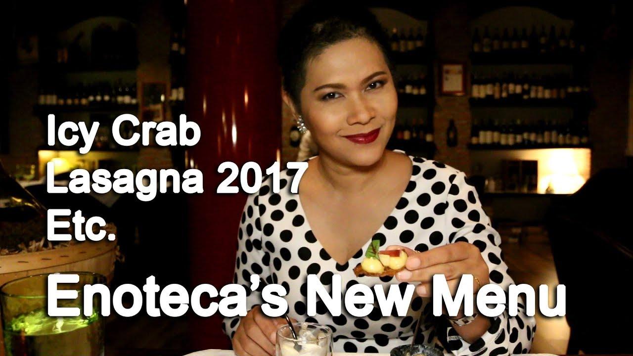 New Michelin Starred Chef at Enoteca Bangkok Italian Restaurant