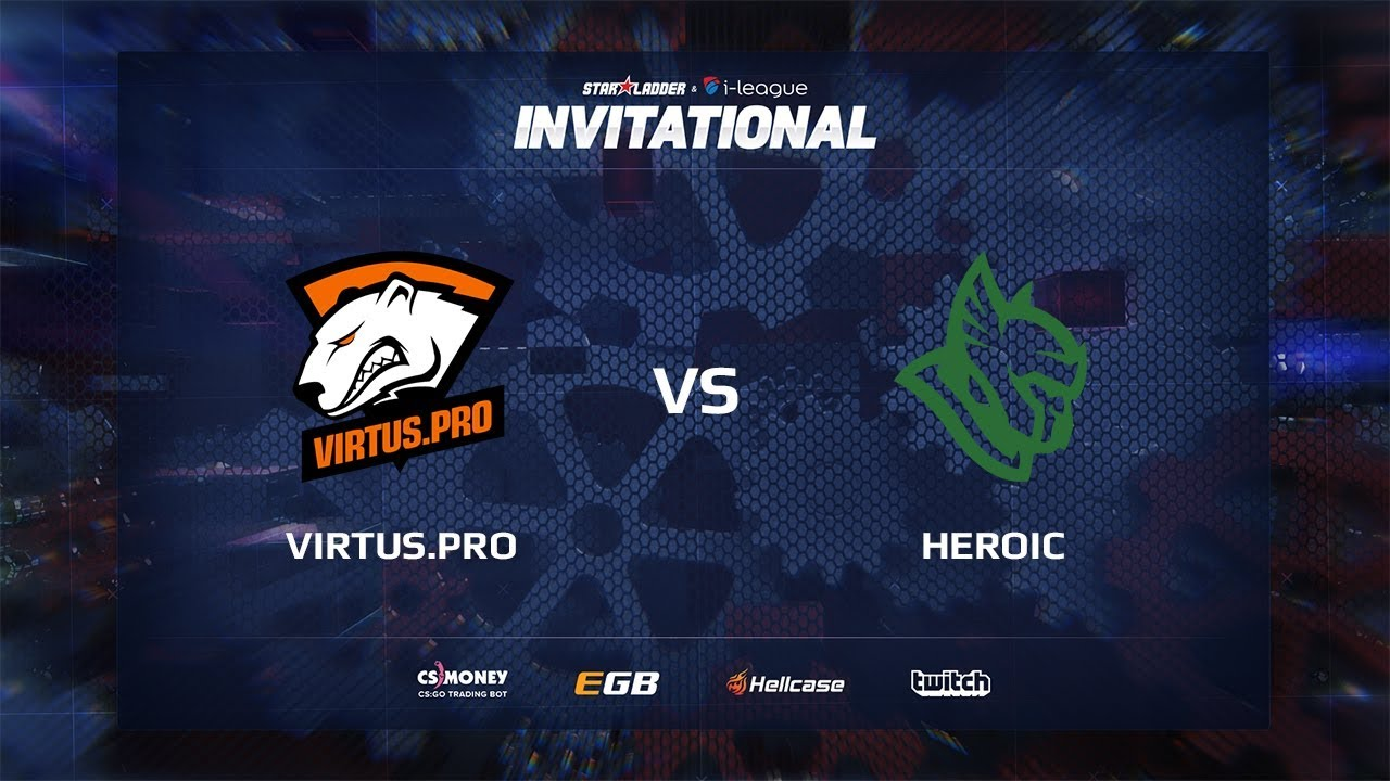 [EN] Virtus.pro vs Heroic, map 2 cache, SL i-League Invitational Shanghai 2017