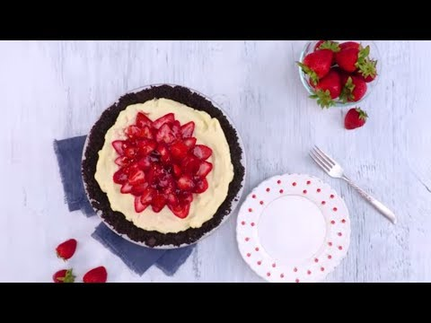 Strawberry Cream Pie | Southern Living
