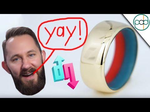 Making Matthias a Dope or Nope Ring! 14k gold ring with glow