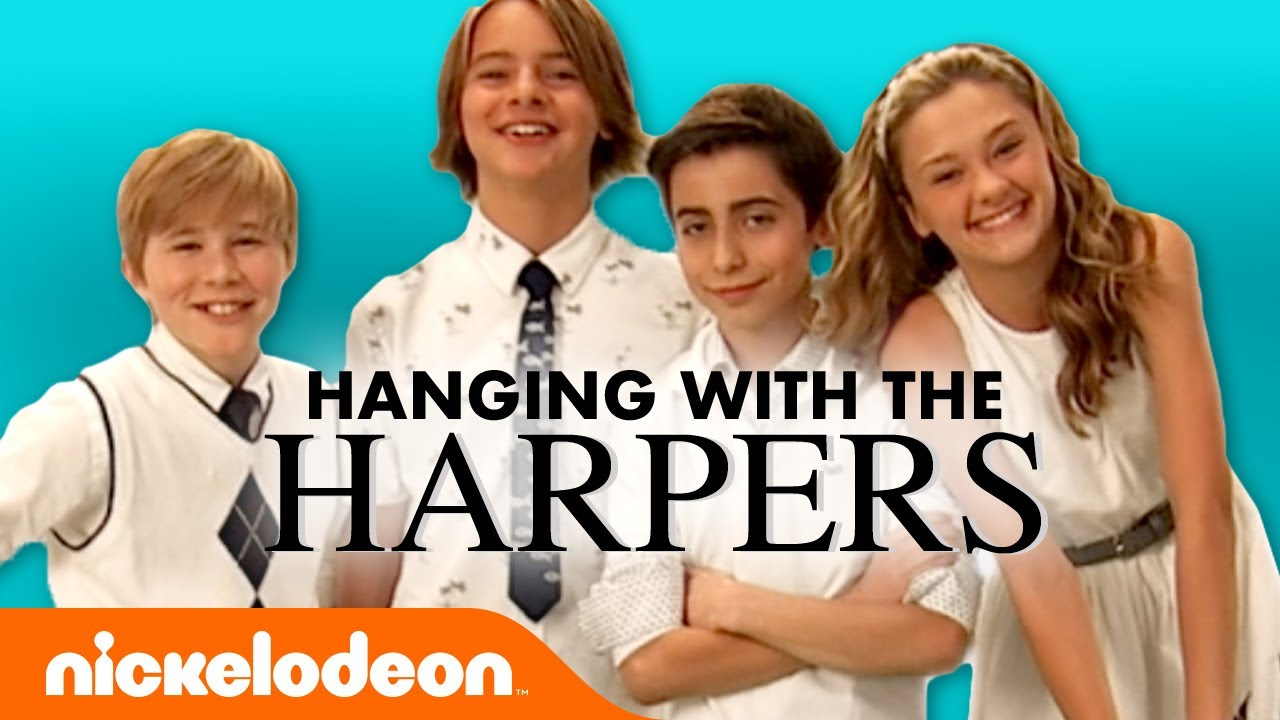 """Download Premiere of """"Hanging with the Harpers"""" 📺 Nicky, Ricky, Dicky, & Dawn"""