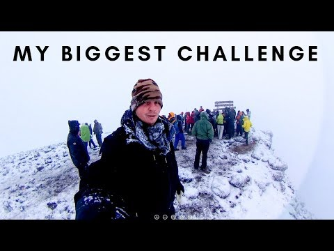 CLIMBING KILIMANJARO - The Hardest Thing I've Done