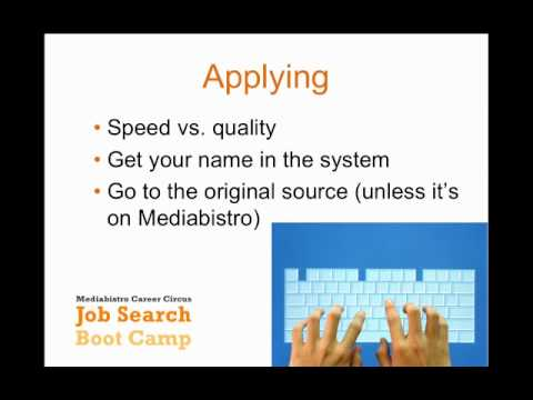 Using Job Boards Effectively with Mediabistro