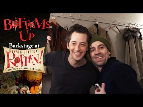 Episode 3 - Bottoms Up: Backstage at the SOMETHING ROTTEN! Tour with Rob McClure