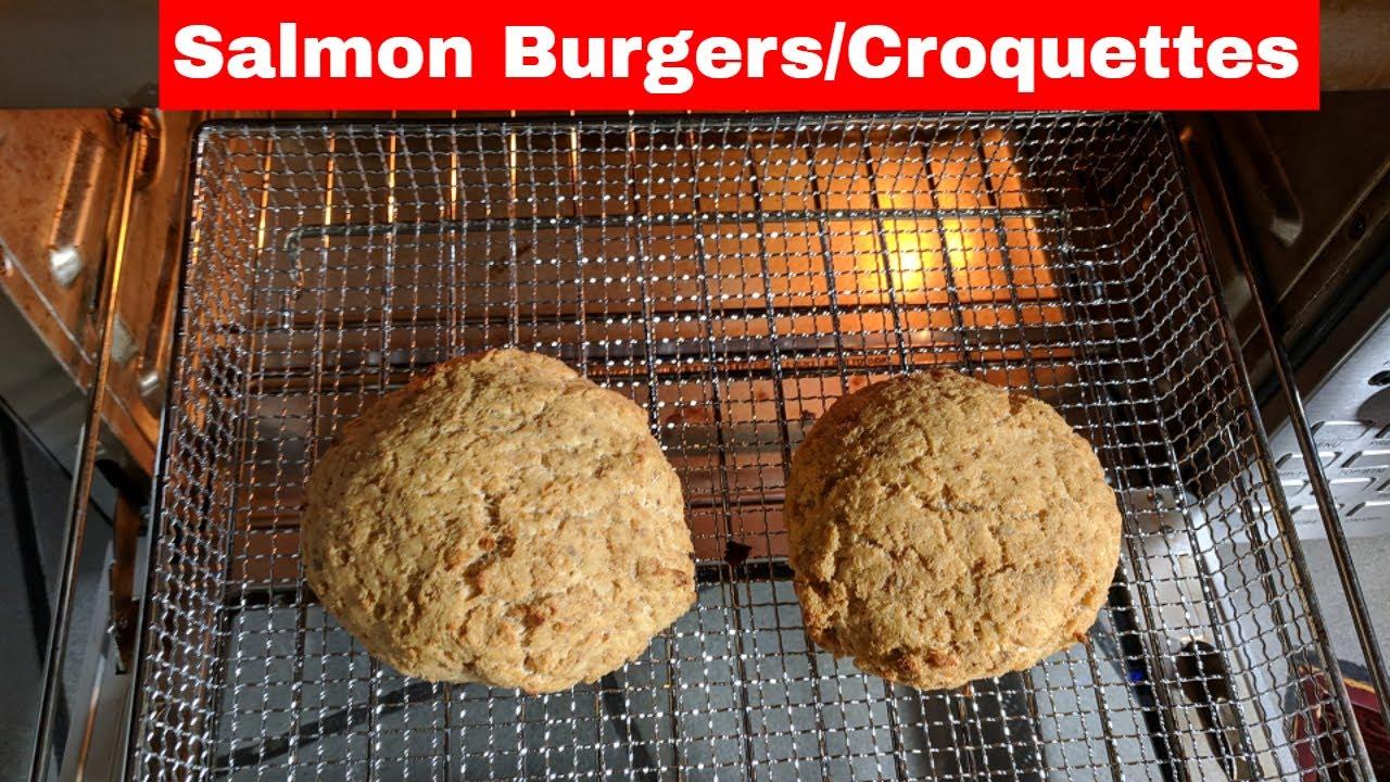 Air Fried Salmon Burgers Recipe Smart Oven Air Fryer