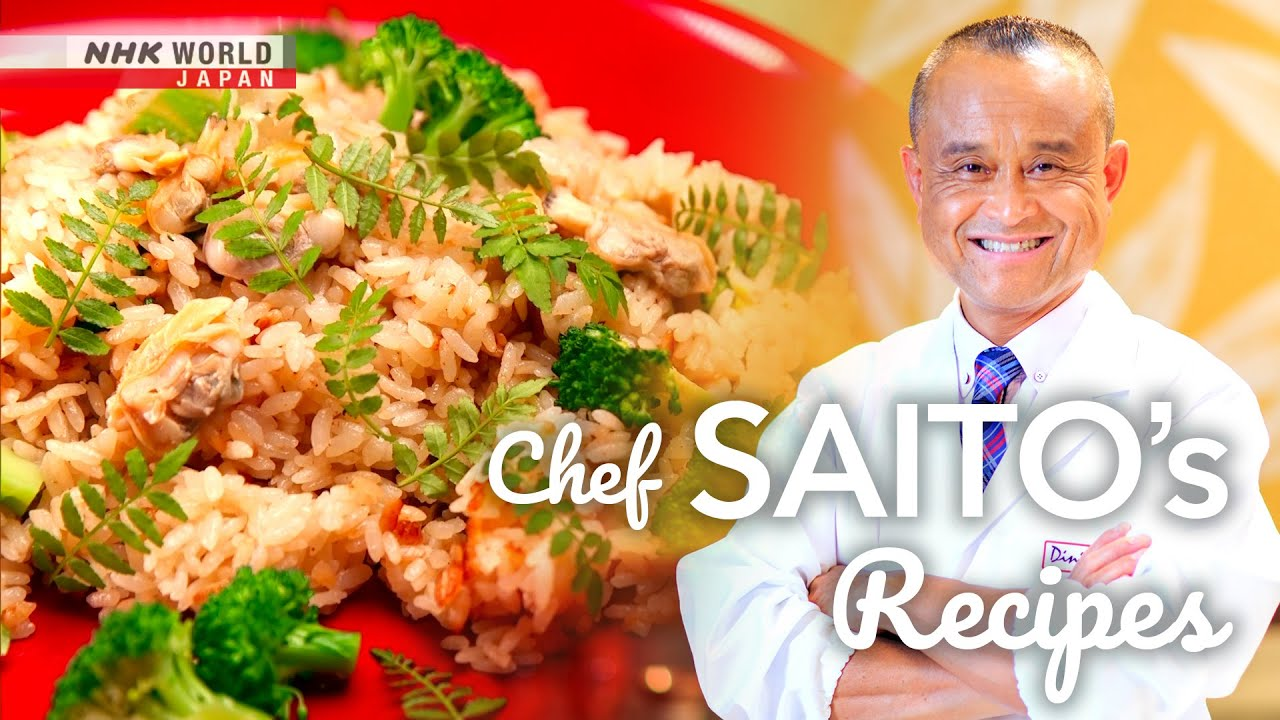 Photo of Chef Saito's Buttered Clams and Broccoli Rice [Japanese Cooking] – Dining with the Chef – video