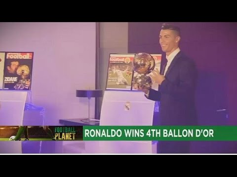Cristiano Ronaldo beats Lionel Messi to Ballon d'Or 2016  [Football Planet]