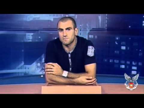 Юра Мовсисян в программе Удар головой.