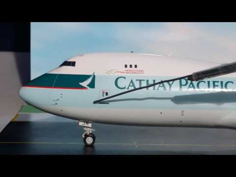 JC Wings 200 Cathay Pacific Cargo B747-8F(Frieghter) Review