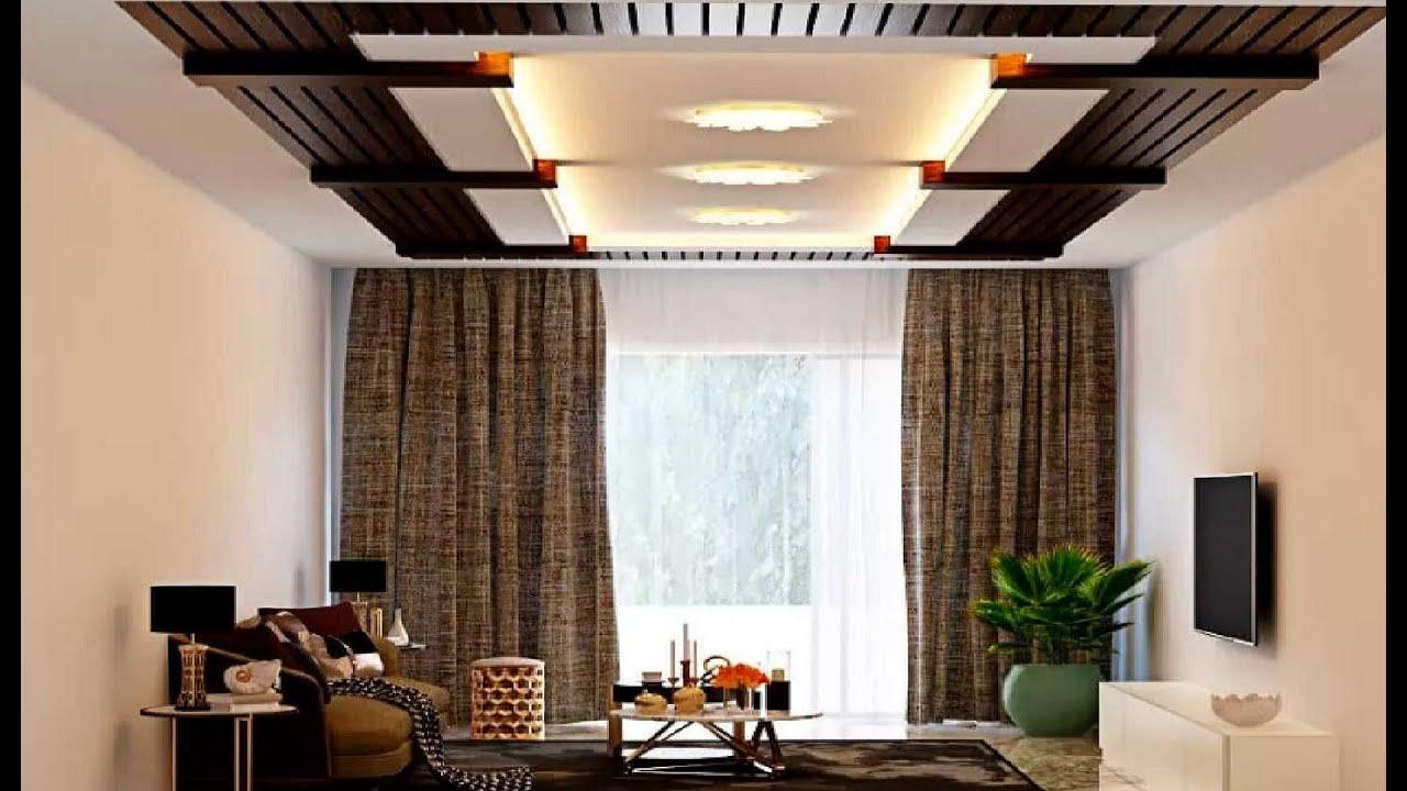 interior design for hall fall ceiling lights