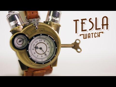 Tesla Watch from ThinkGeek