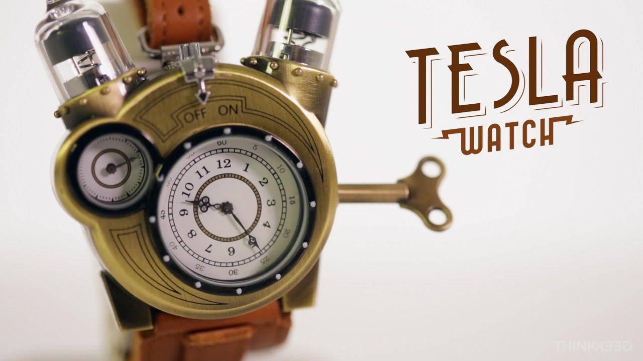 f56b3644a8de Tesla-klocka att sätta runt armen. Dock inte en produkt från Tesla Motors |  Tjock / Garderoben