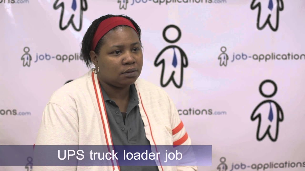 UPS Interview - Truck Loader 2 - YouTube