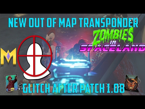 """Zombies In Spaceland Glitches - *NEW* Out Of Map Transponder Glitch - """"Teleport Out Of Map Glitch"""""""