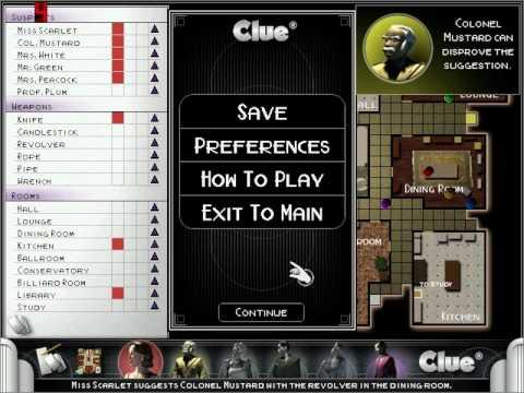 cluedo pc game  free