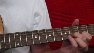 Drive by Incubus - How to play Guitar Solo