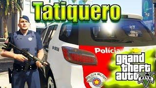 GTA V: Força Tática PMESP patrulhando de Trailblazer