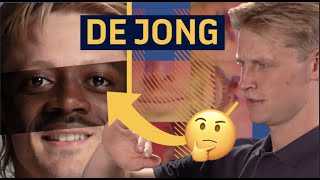 Barça Faces with Frenkie de Jong