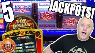 So Many TOP DOLLAR JACKPOT$ 💸 Huge High Limit Wins! | The Big Jackpot