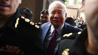 Former Malaysian PM Najib charged with corruption