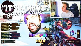 ANGRY GAMER RAGES When I Snipe Him!