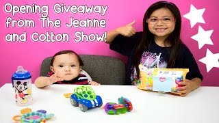 I WON My First Squishy Giveaway From The Jeanne And Cotton Show!