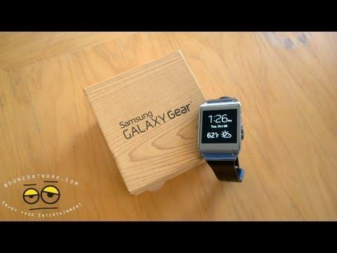 Samsung Galaxy Gear Unboxing & Setup