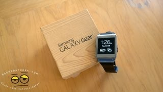 Samsung Galaxy Gear Unboxing & Setup