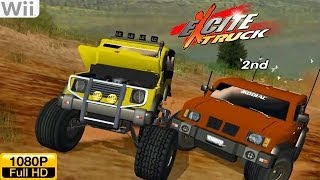 Excite Truck - Wii Gameplay 1080p (Dolphin GC/Wii Emulator)