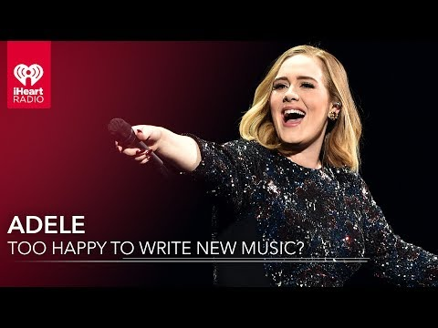 Is Adele Too Happy To Write New Music?
