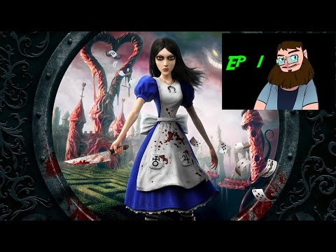 Following Furry Creatures Down Holes - Alice Madness Returns Ep1