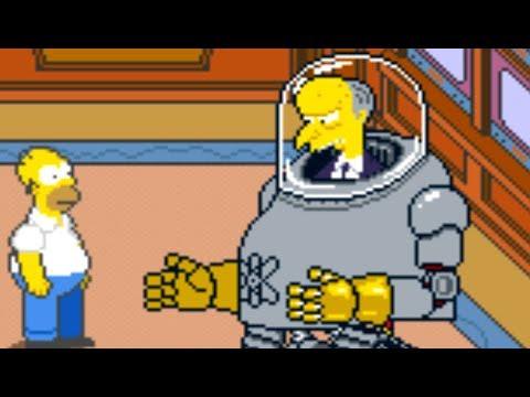 Simpsons (Arcade) All Bosses (No Damage)