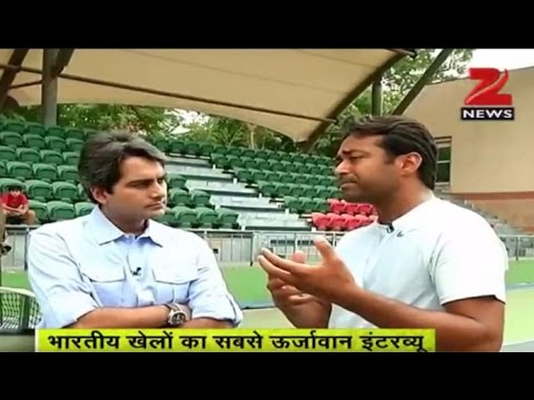 Zee Media Exclusive interview with tennis star Leander Paes