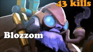 Dota 2 - Blozzom ( Subscriber ) Plays Tinker - Pub Gameplay !