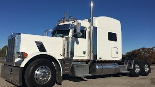 2007 Peterbilt 379 500 Cat Fresh Platinum Overhaul with 4 year unlimited warranty!