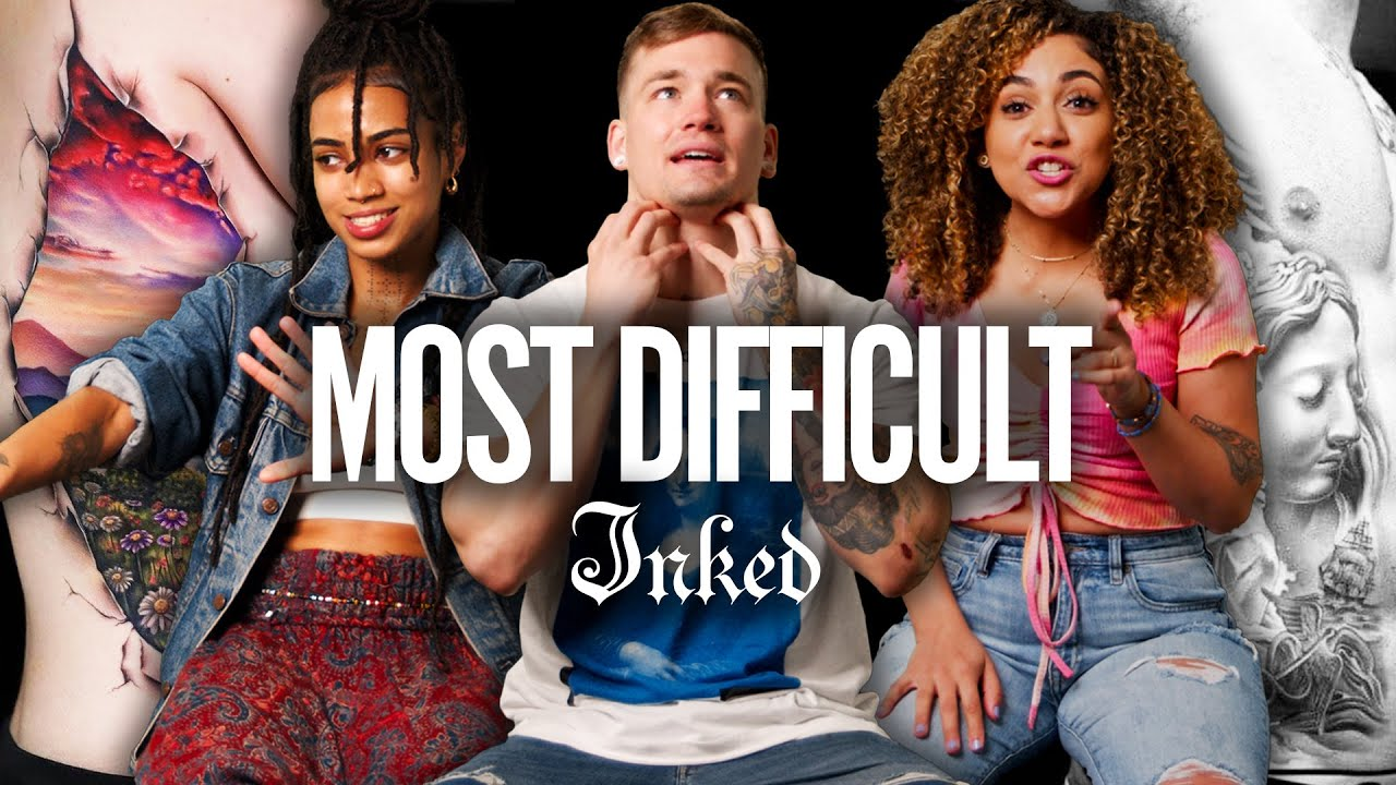 'Where Do I Put My Hands?!' The Most Difficult Body Parts to Tattoo | Tattoo Artists React