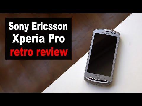Sony Ericsson Xperia PRO | retro review