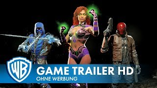 INJUSTICE 2 - Download Content Trailer Deutsch HD German (2017)