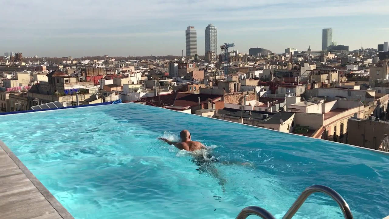 Grand Hotel Central Barcelona Swimming At Grand Hotel Central Barcelona - Youtube