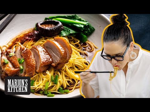 The Ultimate (& Easiest) Chinese Soy Sauce Chicken with Noodles - Marion's Kitchen